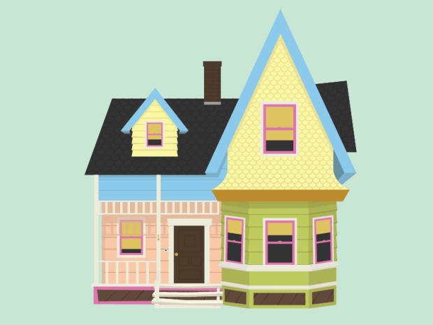 pixar-s-up-house-by-jarrod-joachim-dribbble-vshyrn-clipart